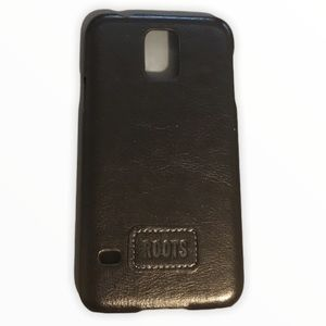 Roots Premium Leather Snap On Case for Galaxy S5